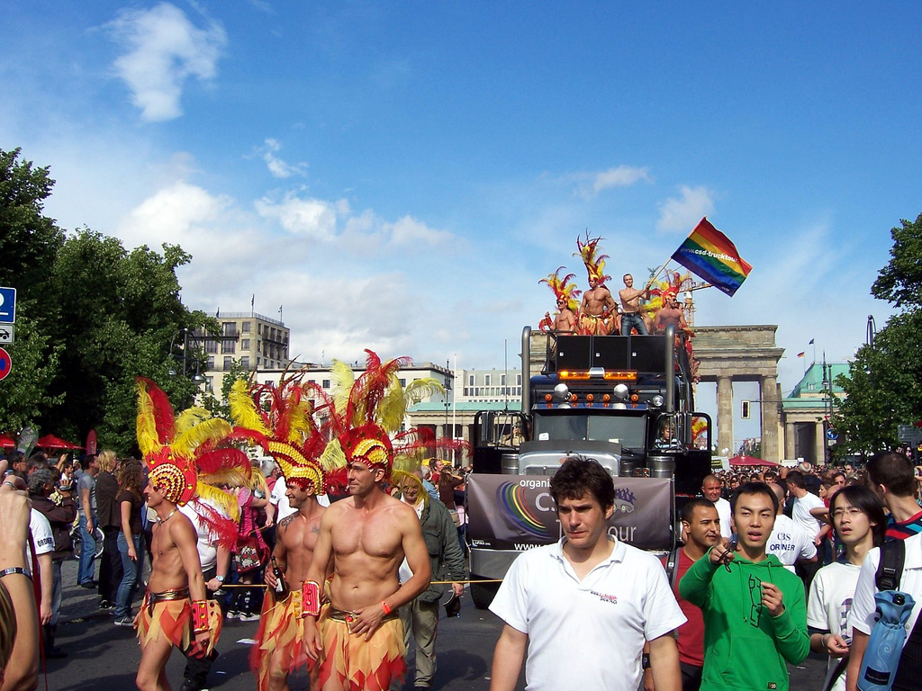 CSD Berlin 2007 - Partytruck 1 - Folsom Europe Berlin 2016