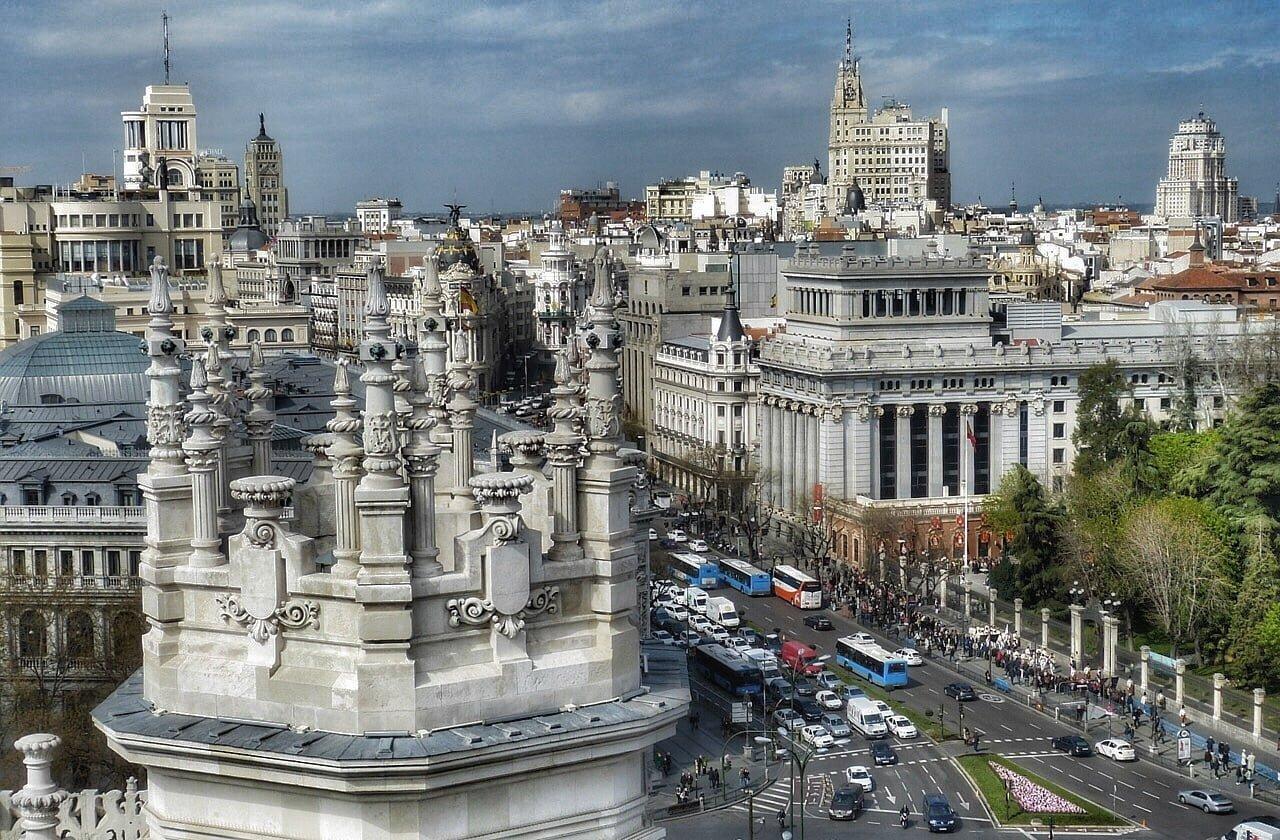 Raggiungere Madrid