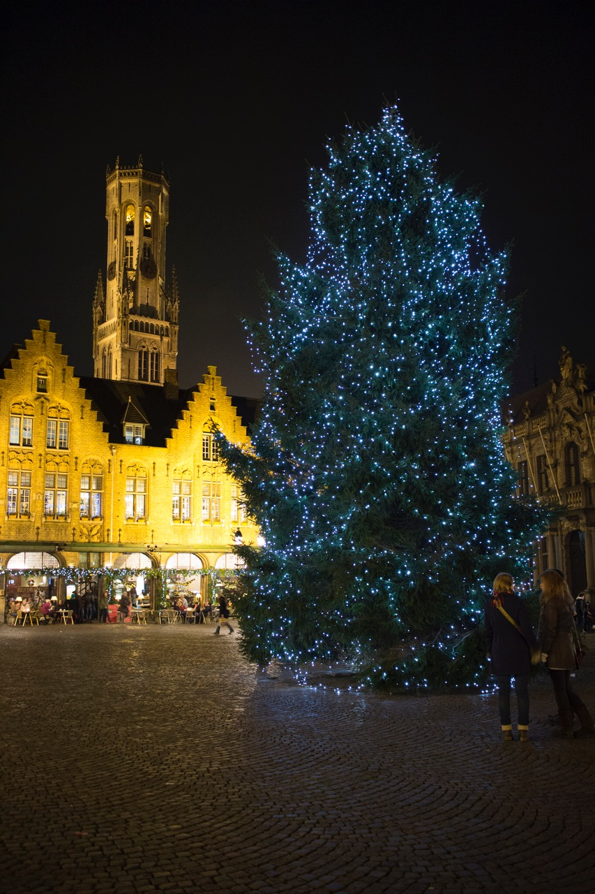 Christmas Tree in Bruges