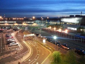 Edinburgh Airport - Taxi rank - Edinburgh Airport