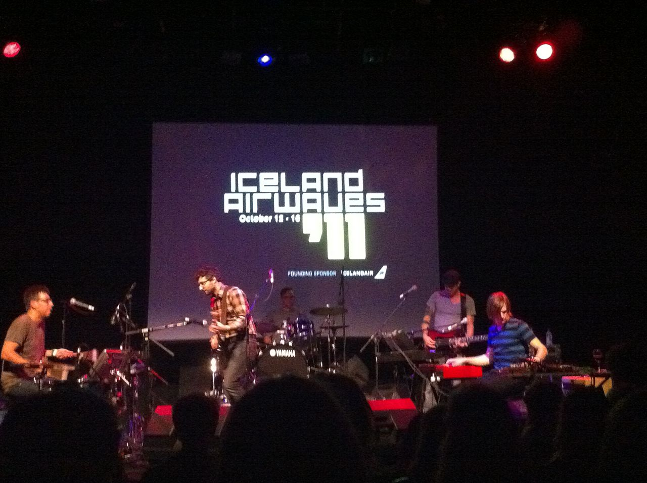 Iceland Airwaves Festival 2016 - Karkwa at Airwaves 2011