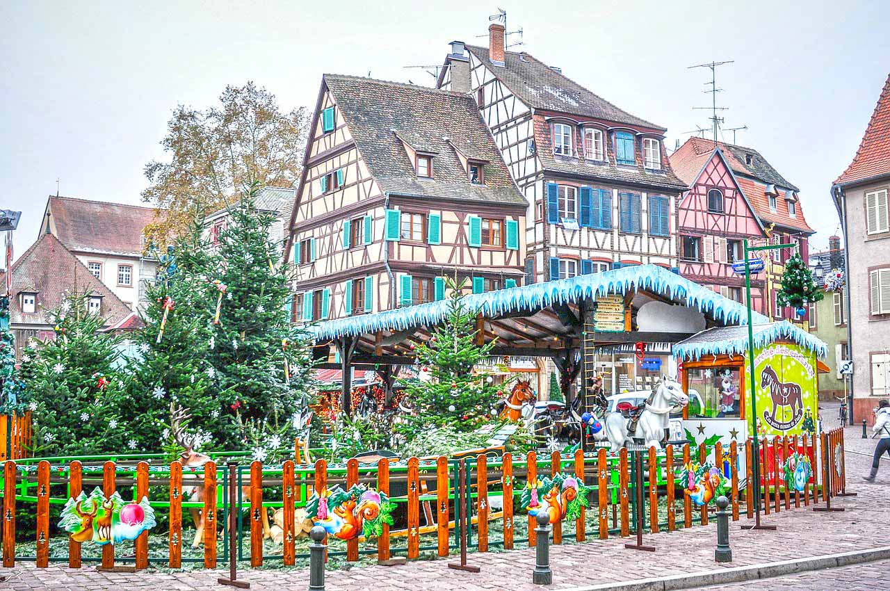 Christmas Markets in Colmar, Alsace