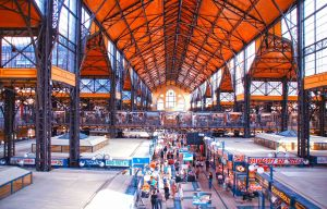 Central Market in Budapest