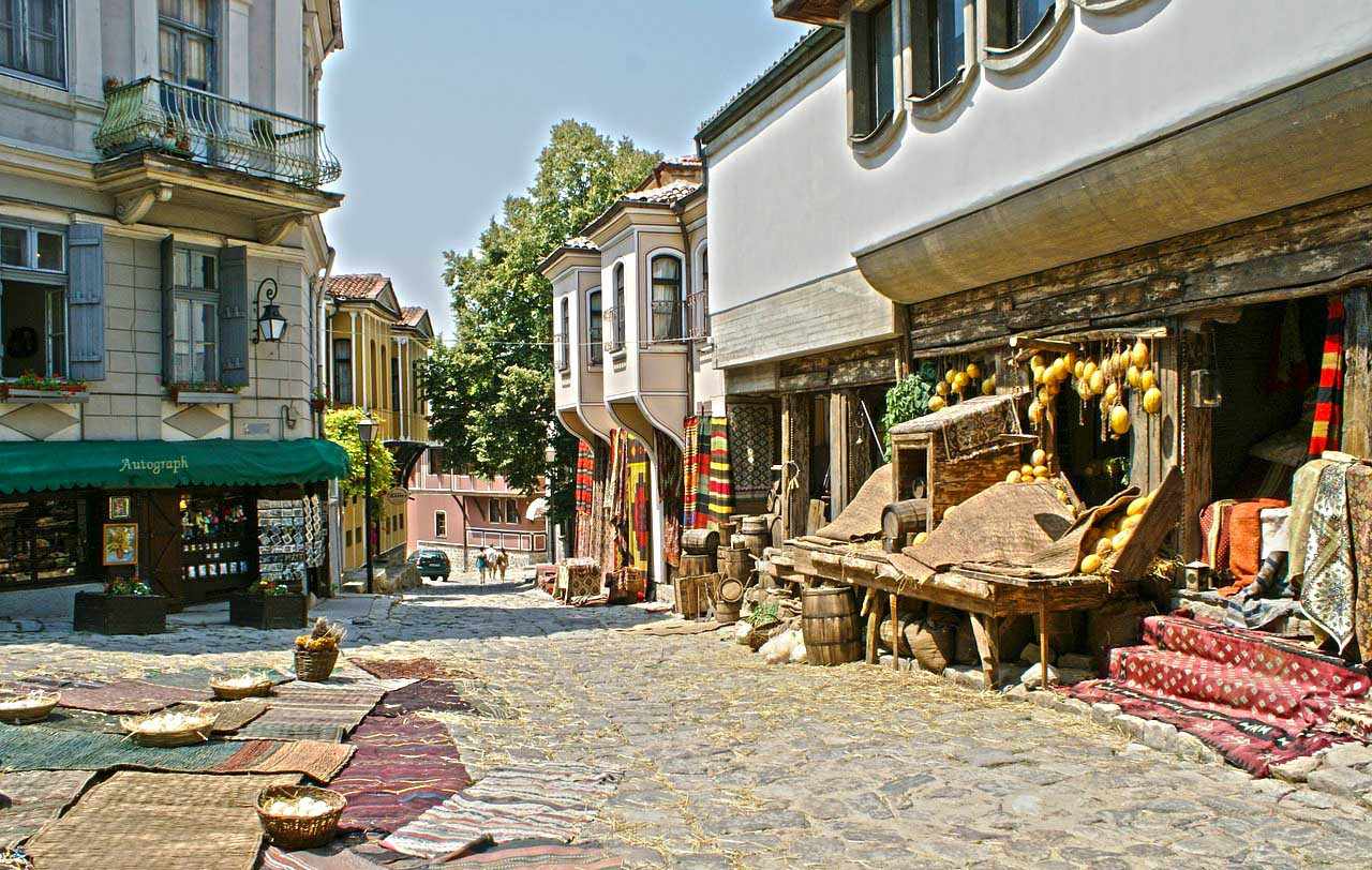 Muoversi a Plovdiv