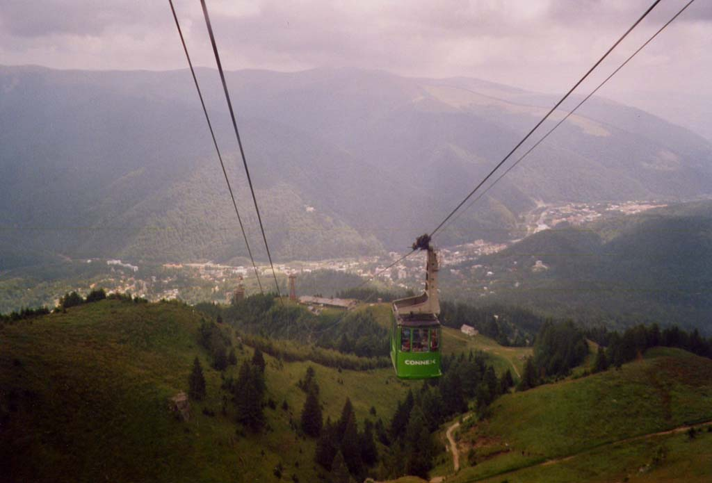 Getting around in Sinaia