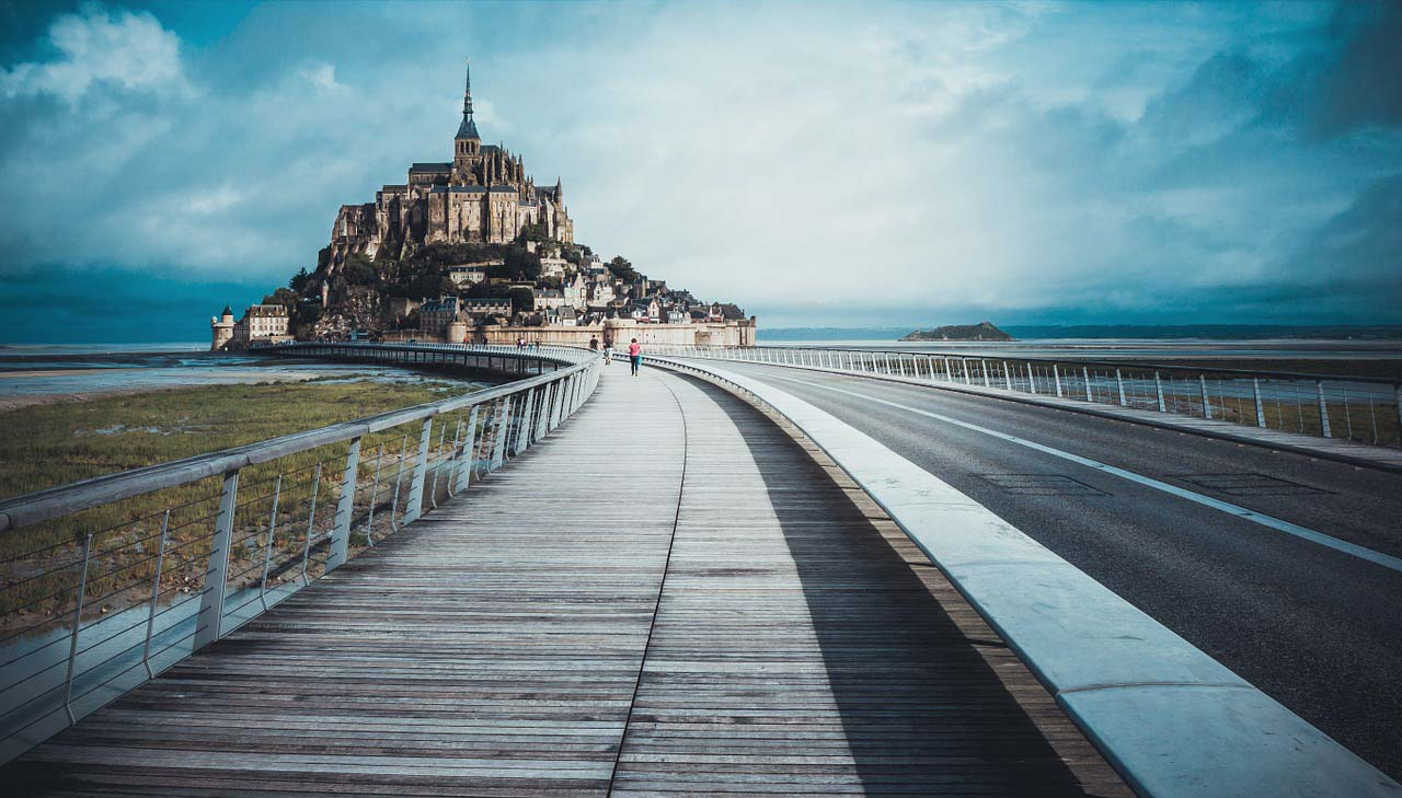 Getting around in Mont Saint Michel