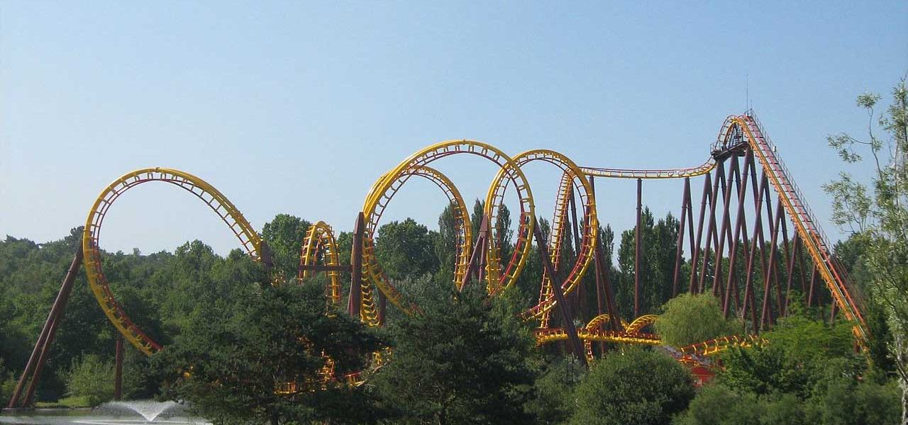 Attractions at the Asterix Park, Goudurix