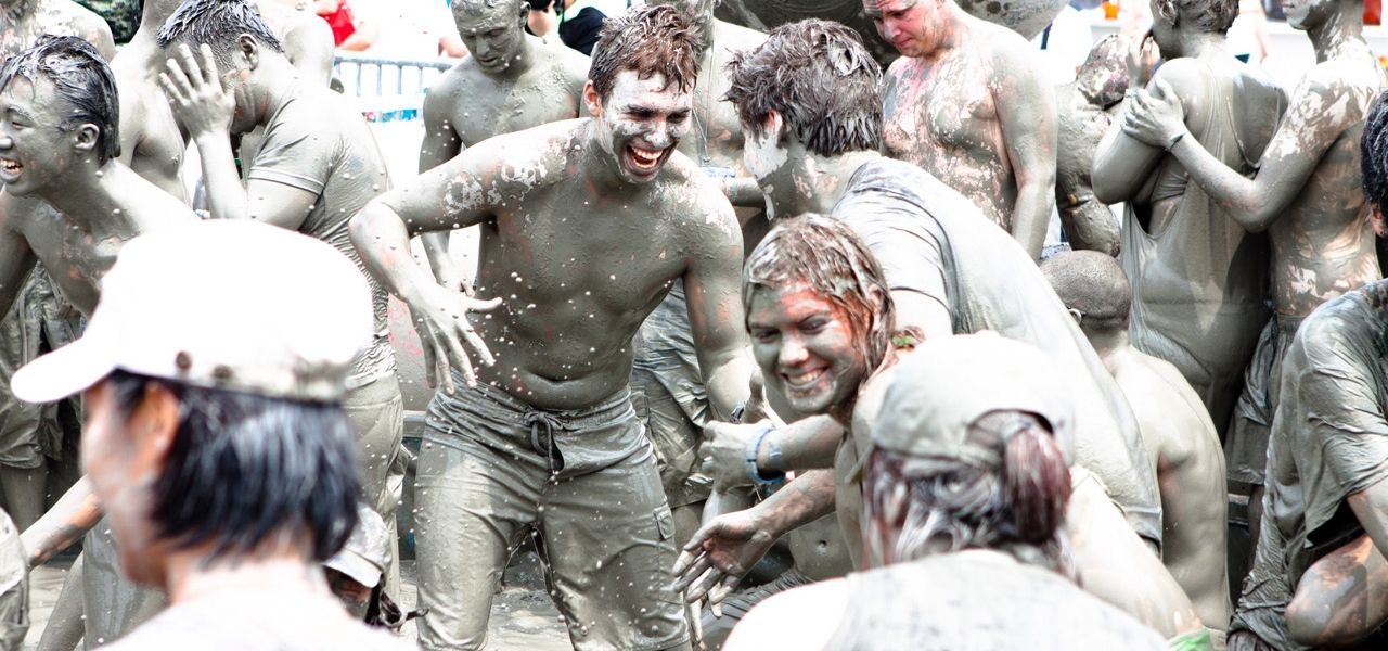Boryeong Mud Festival, South Korea