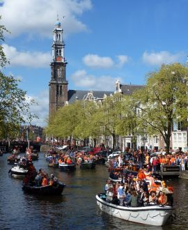 King's Day, Koningsdag Amsterdam