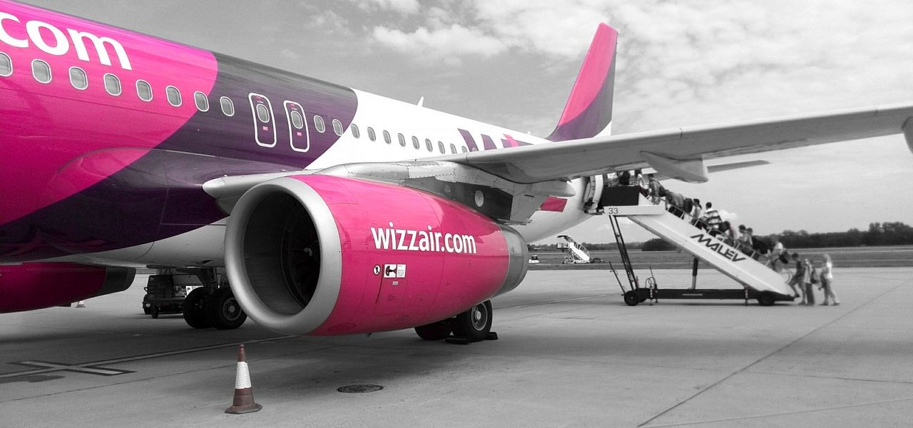 Imbarco e check in con Wizz Air