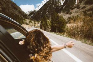 Traveling by car